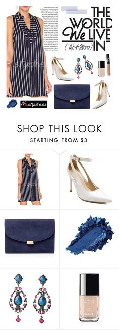 """""""Nastydress 30/1"""" by merima-kopic ❤ liked on Polyvore featuring Privé, Mansur Gavriel, Chanel, NARS Cosmetics and nastydress"""
