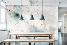 Inverted Spaces--from Calico Wallpaper's newest collection -collaboration with designers BCXSY