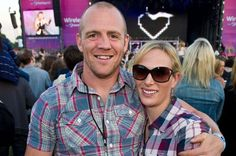 Mike Tindall and Zara Phillips attend Wireless with Barclaycard at Hyde Park