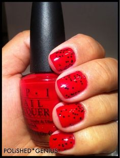 OPI Thrill of Brazil & WnW Tangled in My Web