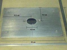 Erstellen der Metallplatte
