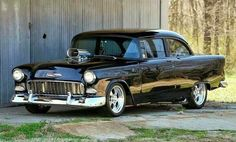 Chevy◆ Maintenance/restoration of old/vintage vehicles: the material for… 1955 Chevy, 1955 Chevrolet, Chevrolet Bel Air, Sexy Cars, Hot Cars, Classic Hot Rod, Classic Cars, General Motors, Vintage Cars