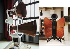 """Oswaldmill Audio Imperias... are [like] a pair of well-maintained Victorian rocket launchers, something salvaged from the set of """"Doctor Who."""""""