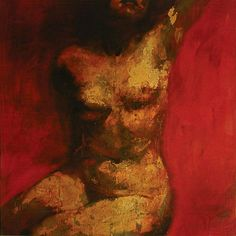 Figure in Red and Gold. Alan Mcgowan
