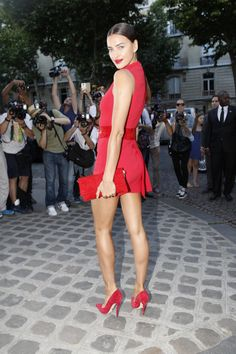 Irina Shayk Paris Fashion Week