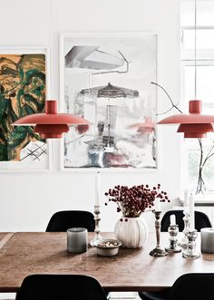 White Home with Colorful Accents // Бял дом със свежи цветни акценти | 79 Ideas