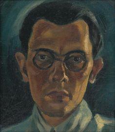 Mikuláš Galanda: Vlastná podobizeň:1932