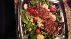 My hubby made the steak salad featured in the dash diet