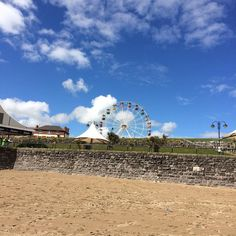 Blue sky or black sky at #barryisland.  You can have both. #weather #sky #barryisland #wales