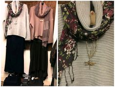Calling into #RAFT of #Newent yesterday, these lovely winter outfits caught my eye...our stunning rib sweaters with cowl neckline looking very warm and snug over super useful navy #Robell trousers and also our long line plumb skirt. For details: Email newent@raft.company or Tel. 01531 828280.