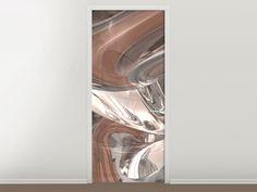 Tür #Tapete Abstraktes Glasfliessen