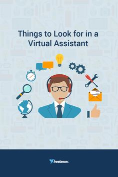 Things to Look for in a Virtual Assistant Virtual Assistant, Online Jobs, Startups, Entrepreneurship, That Look, Business, Blog, Business Illustration