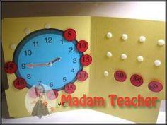 okul oncesi Saat oyuncak yapimi, okul oncesi etkinlik, okul oncesi sanat etkinlikleri, etkinlik ornekleri