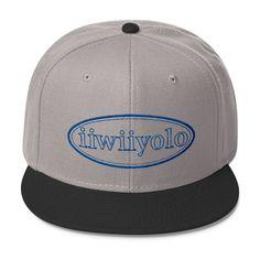 Wool Blend Snapback - Royal Blue iiWiiyolo Oval Label