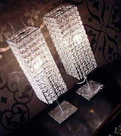 When shopping for a lamp for your home, your options are nearly endless. Find the perfect living room lamp, bedroom lamp, desk lamp or any other style for your particular space. Home Interior, Interior Decorating, Glam Bedroom, Comfy Bedroom, Queen Bedroom, Unique Lamps, Deco Design, Beauty Room, My New Room