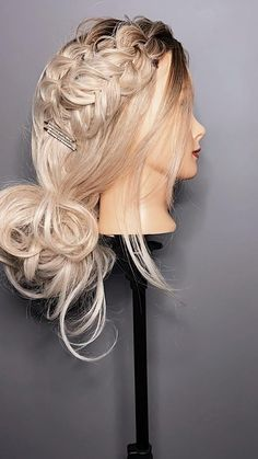 Hair by Kaelyn Christine creating a hairstyle to fit your version of beautiful. A romantic updo, boho braids, or beachy waves. Easy Hairstyles For Long Hair, Braids For Long Hair, Bride Hairstyles, Homecoming Hairstyles, Party Hairstyles, Front Hair Styles, Medium Hair Styles, Double Braid, Hair Videos