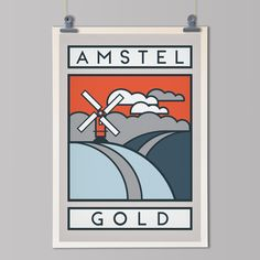 The Routes: Amstel Gold - Cycling Art Print – The Handmade Cyclist Graphic Design Tutorials, Graphic Design Art, Amstel Gold Race, Man Cave Art, Bike Poster, Poster Series, Bicycle Art, Cycling Art, Office Art