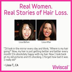 36 Best Viviscal Before After Images Grow Hair Hair Growing