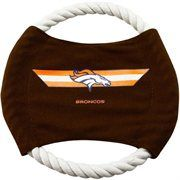 Denver Broncos 9'' Flying Rope Disk Dog Toy #NFL #NFLDogProducts #NFLPetProducts #DogProducts #PetProducts #DenverBroncos #DenverBroncosDogs #DenverBroncosPets #Broncos #Animals #Dogs #Pets #AdorabullBulldogs #PawsativeParent