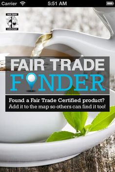 Fair Trade Finder App - Interesting