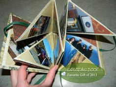 Picture of HOW TO MAKE AN EXPLODING SCRAPBOOK