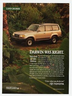 The LC ad that I actually ripped out of a magazine and taped up in my room as a teen! <3