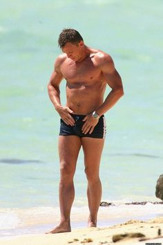 Oh Daniel Craig......Stop It! No! Forget what I said....DON'T stop it!!