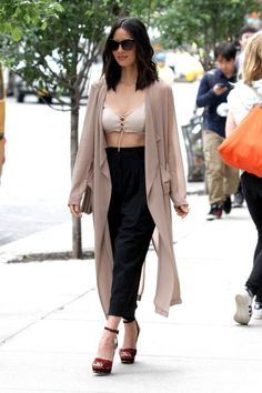hotcelebspot: The Goddess Olivia Munn out and about