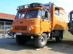 Robur, East German Lorry Expedition Truck, Dodge Power Wagon, Rv Trailers, Camper Conversion, Busses, House On Wheels, Old Trucks, Camper Van, Motorhome