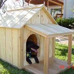 images about Dog house on Pinterest   Dog houses  Diy dog    Doggy house
