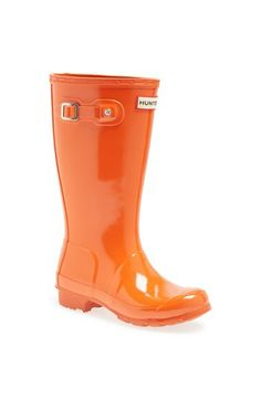 Bright orange Hunters for little kids http://rstyle.me/n/fp2vmnyg6