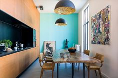 Bordeaux Residence by Agence Couleur / kolor we wnętrzu W poszukiwaniu unikalnego projektu - zapraszamy na www.loftstudio.pl