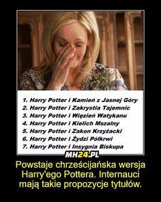 Memy z Harrego Potter'a ; w Losowo- # Losowo # amreading # books # wattpad Harry Potter Mems, Harry Potter Facts, Best Memes, Funny Memes, Jokes, Polish Memes, Harry Draco, Funny As Hell, 5 W