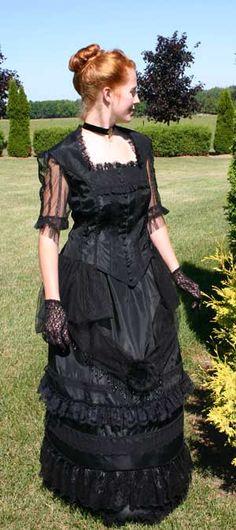Victorian Evening Wear