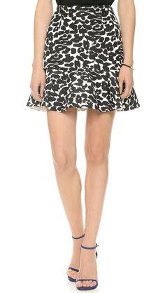 leopard skirt //