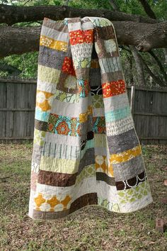 Optimism Modern Quilt Pattern INSTANT DOWNLOAD by QuiltsByEmily