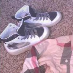 Kids Burberry sneakers worn a few times in great condition!! Burberry Shoes Sneakers