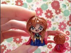 """Clay Tutorial: Anna from """"Frozen"""" - YouTube"""