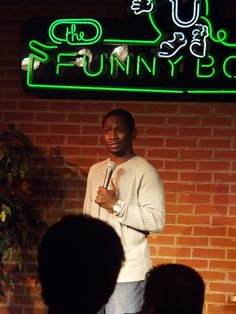 Me live at the now defunct  EVANSVILLE FUNNYBONE in the early 2000's. I really enjoyed this club. The midwest is a great place for comedy. It's a really good litmus test for for jokes.