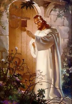 christ knocking - Google Search