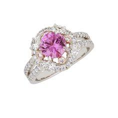 Marie, zafiros rosados