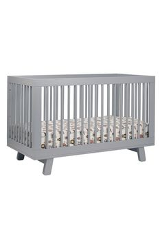 Free shipping and returns on babyletto 'Hudson' 3-in-1 Convertible Crib at Nordstrom.com. Clean design blends with contemporary convenience on this convertible crib that meets baby's changing needs while bringing mid-century modern appeal to your nursery. Crafted from sustainable New Zealand pine wood, this solidly built, eco-friendly construction begins as an elegant crib and later turns into a daybed or toddler bed, growing in sync with your child. All-spindle sides create an open feel…