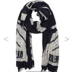 Set the look off with this scarf - goes with both tops :-)