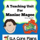 Entire unit FREE!  Tons of printables.  This probably won't stay free for long, so download now, and please leave feedback to say thanks.  :) Reading Lesson Plans, Reading Lessons, Maniac Magee, Ela Classroom, Classroom Ideas, 5th Grade Reading, Middle School Ela, Literature Circles, Free Resume