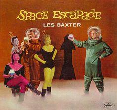 Space Age Album Covers -Via: 1 | 2