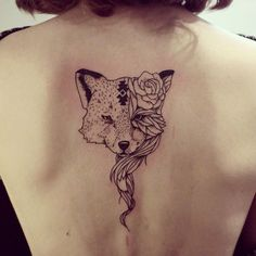 Cheyenne is a talented tattoo artist and illustrator in Strasbourg, France who creates beautiful tattoos that exhibit a wild and natural spirit. She is inspired by Native American culture and wildlife, while also focusing on the feminine form and on popular modern motifs like minimalistic designs and sacred geometry. #AnimalTattoos