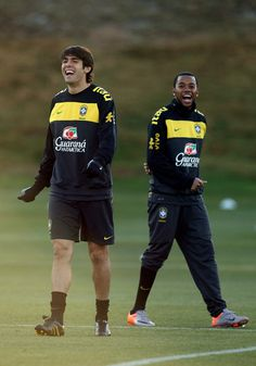 Robinho, Kaka. Hope these 2 return to the national team!