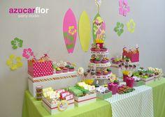AZUCAR FLOR party studio: Cumpleaños playero