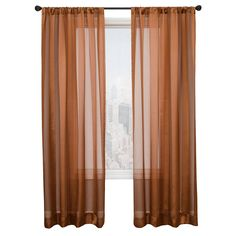 Diplomat Decor Tipton 120-Inch Rod Pocket Panel, Copper * You can get more details by clicking on the image. (This is an affiliate link and I receive a commission for the sales)