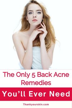 We have compiled few back acne cures that don't require the use of chemicals or harsh components. Explore some of the greatest tricks to get rid of those annoying zits on your back.#how to treat back acne #clear back acne #acne remedies